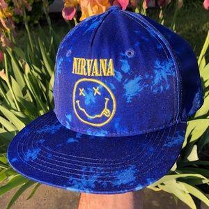 Nirvana official snapback band cap hat tee shirt
